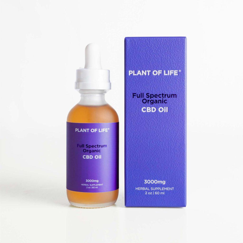 Full Spectrum CBD Oil 3000mg   Plant of Life