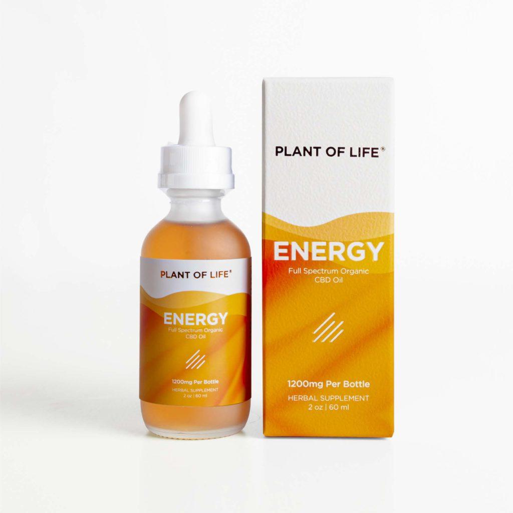 Full Spectrum Organic CBD Oil - Energy | Plant of Life