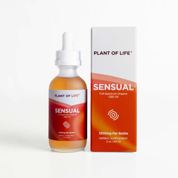 Full Spectrum Organic CBD Oil - Sensual | Plant of Life