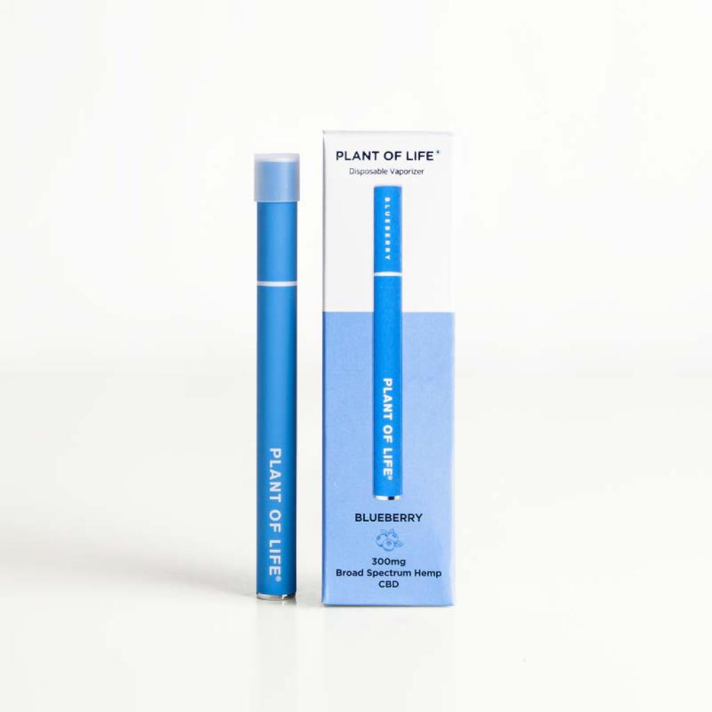 Broad Spectrum Disposable CBD Vape Pen - Blueberry