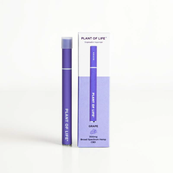 Broad Spectrum Disposable CBD Vape Pen - Grape