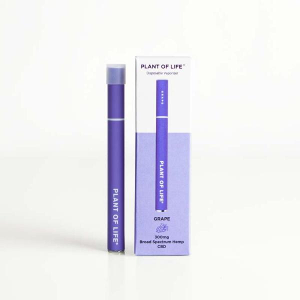 Broad Spectrum Disposable CBD Vape Pen - Grape