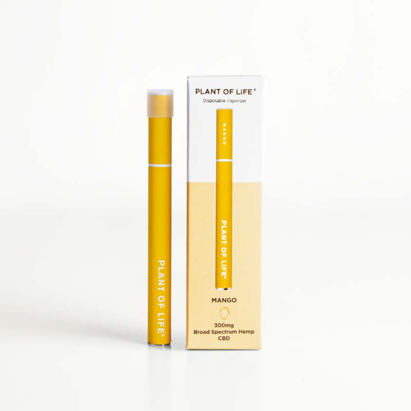 Broad Spectrum Disposable CBD Vape Pen - Mango