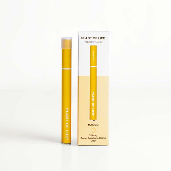 Broad Spectrum Disposable CBD Vape Pen - Mango