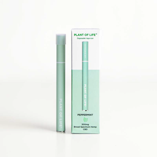Broad Spectrum Disposable CBD Vape Pen - Peppermint