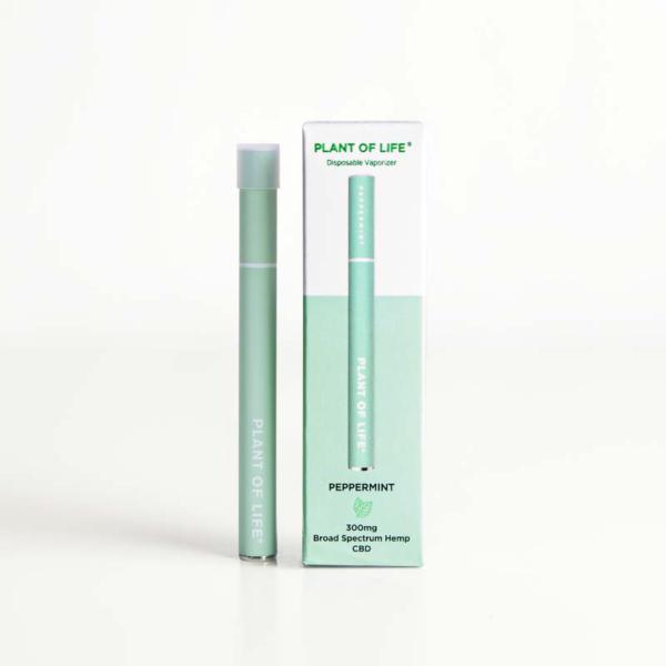 Broad Spectrum Disposable CBD Vape Pen - Peppermint