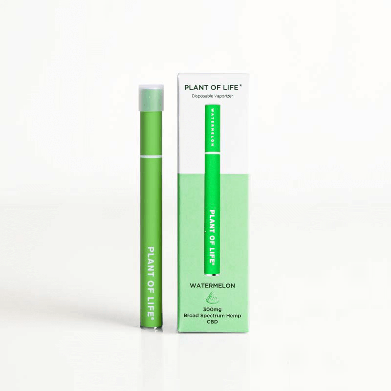 Broad Spectrum Disposable CBD Vape Pen - Watermelon